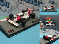 Fórmula1  McLaren MP4/4  Ayrton Senna  Champion FIA 1988  Ixo/Salvat 1:43