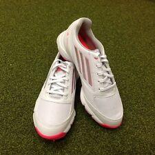 NUOVODONNA ADIDAS ZTraxion scarpe da golf in pelle bianca UK 5 EU 38