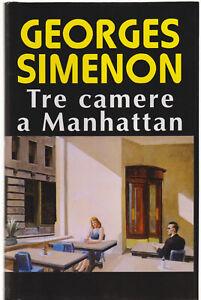 Georges Simenon TRE CAMERE A MANHATTAN Euroclub/Adelphi 1998 cop.rigida