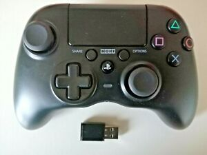 PS4/PC Wireless Controller Hori  Officially Licensed Sony with dongle and lead.