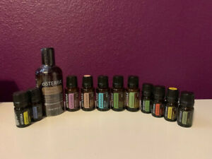 Lot of Unopened doTerra Oils: Helichrysum, AromaTouch, Lavender, On Guard & more