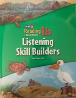 SRA Reading Laboratory 1B Listening Skill Builders Book/Audio Cassette Lab 2005