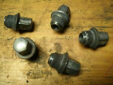 (5) 01-07 Dodge Caravan Steel Wheel Hub Cap Retaining Lug Nuts Acorn w Flange OE