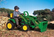 John Deere 12v Ground Loader Kids Ride on Tractor