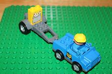Lego Duplo Postauto mit Anhänger und Postbote, Mann, Sonderstein Brief