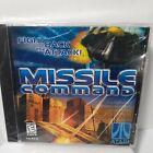 Missle Command Atari Cd Rom Windows 95/98 Hasbro New Pc Computer Game 1990