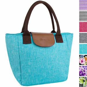 Insulated Lunch Bag Purse Large Lunch Cooler Food Tote for Women Girls Office