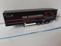 PAUL SCHOCKEMÖHLE  Logistics made in Germany  Megaliner  Bahntrailer  HUCKEPACK