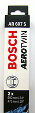 Bosch Balai essuie-glace 3397118909 AVANT ar607s 600/475mm BMW Mazda etc