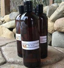 Fractionated Coconut Oil,Organic,Carrier,Massa ge, Coconut Palm Oil, Mct 16 Fl.