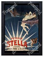 Historic Stella Gasoline 1897 Advertising Postcard