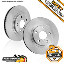2 Front Brake Disc Rotors 2006 2007 2008 2009 2010 JEEP GRAND CHEROKEE COMMANDER