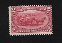 US Stamps1898 US Stamp Scott # 286 Farming in the West Mint MNH
