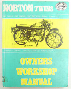 Norton Twins Haynes Owners Workshop Manual 88 88SS, 99, 99SS, 650, 650SS, Atlas,