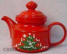 WAECHTERSBACH china CHRISTMAS TREE pattern Teapot & Lid