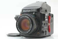 【NEAR MINT】 Mamiya 645 Pro w/ Sekor 80mm f2.8 N Finder Lens From Japan