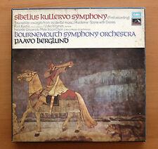 SLS 807/2 Sibelius Kullervo Symphony Paavo Berglund 2xLP EMI Stereo Box NM/VG