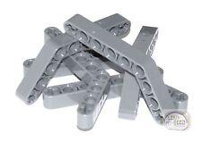 LEGO Technic - 6 x 9L Angle Beams - Liftarm - Dk Blu Gry - New - (NXT, EV3)