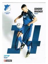 Sandro Wagner  AK 17/18 TSG Hoffenheim / Bayern  mit original Unterschrift !!