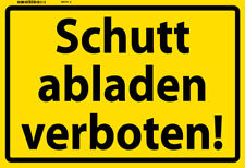 Schutt ĄDescarguen prohibido! chapa escudo Escudo jadeará metal Tin sign 20 x 30 cm