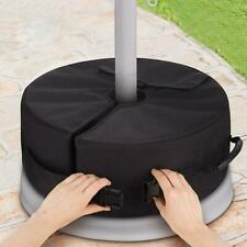 Foldable Weight Sand Bag Umbrella Base Stand Outdoor Tent Patio Windproof DD