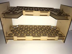 47 pot capacity Citadel Hex Large  paint rack for Warhammer and Warhammer 40k