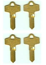 (4) FORT 752  MAC Tool Box Keys Cut to Code ToolBox using Codes 8001-9000 & A/Z