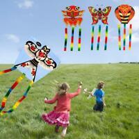 Outdoor Kites Butterfly Children Kids Flying Kite Fun Sports Toys S8H1