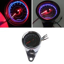Universal LED Motorcycle Tachometer DC 12V Meter 13K RPM For Honda Yamaha Suzuki