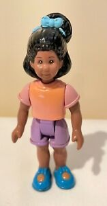 Little Tikes Dollhouse African American Girl Daughter Sister Doll
