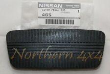 Nissan Patrol GQ Y60 Brake pedal pad rubber Auto trans only Genuine 46531V0100