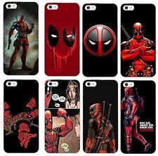 Deadpool marvel comic hard back phone case for iphone samsung i4 i5 i6 s6 s7 s8