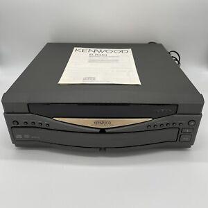 Kenwood D-R350. Cd Changer 5 Disc - 21 Series Vintage Hifi Separates + Manual