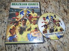 Brazilian Giants Gigantes De Brasil Soccer DVD Garrinda Junior Zico Ronaldo More