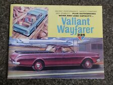 1965 CHRYSLER VALIANT AP6 UTE (WAYFARER) SALES BROCHURE 100% GUARANTEE