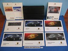 2002 Porsche 996 911 Carrera C4S / C4 / C2 Owner Manuals Operator Books Set K137