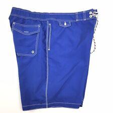 Old Navy Mens XL Blue/White Mesh Lined Swim Trunks