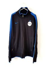 Inter Milan Track Top Jacket. Large. Nike. Black Adults Football Long Sleeves L.