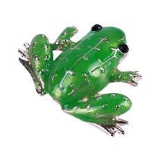 Scarf Lapel Pins Trinket Jewelry Wa Unisex Fashion Animal Frog Enamel Brooch