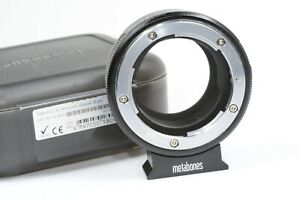 METABONES adapter NIKON  G & F lenses to Fuji X mount