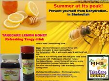 100% Pure Honey Natural With Lemon Boost Immunity,Cold & Cough 500g