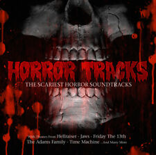 CD HORROR tracks the Scariest horror colonne sonore