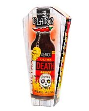 """Blair's Death Sauce """"ULTRA DEATH"""" //Blairs Hot Chilli Sauce as seen on Hot Ones"""