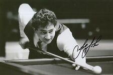 Joe Johnson mano firmado 12X8 Snooker Foto prueba.