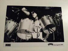 KISS / Eric Carr - Awesome Promo Press Photo 1980