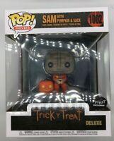 Funko POP Trick R Treat Sam W/Pumpkin Spirit Exclusive Halloween Figure #1002 J2
