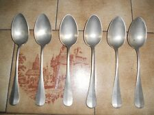 Alpacca Vintage spoon - 4 piece Berndorf and 2 piece from W&G