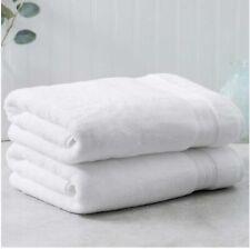 Charisma Soft 100% Hygro Cotton  Bath Towel ( WHITE) W/ Detail