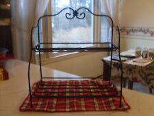 Longaberger Wrought Iron Small Bakers Rack/Item # 71641/New/Ob