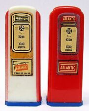 1950's ATLANTIC Kittanning Penn. matched GAS PUMP salt & pepper shakers set *